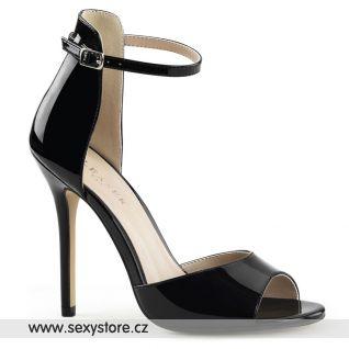 Sexy sandály Pleaser na vysokém podpatku AMUSE-14/B