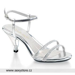 Plesové sandály BELLE-316/S/RS