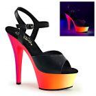 RAINBOW-209UV/BPU/NMC sexy boty svítící pod UV světlem