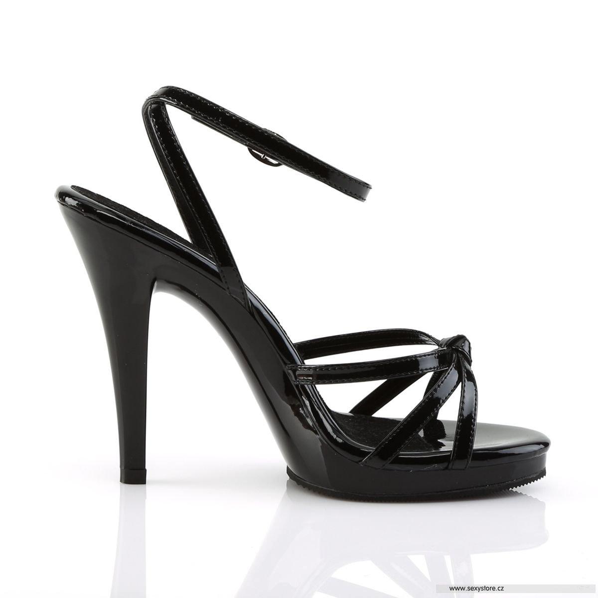 c2937fe0fa5 černé sandály FLAIR-436 B M