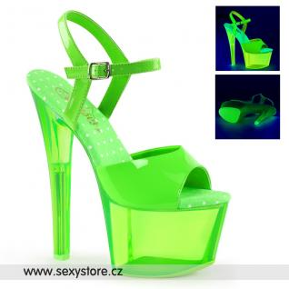 Zelené svítící sexy boty SKY309UVT/NGN/GNT skladem