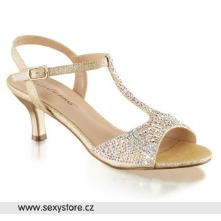 Béžové sandály AUDREY-05/NUFA
