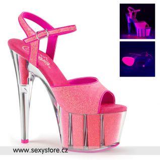 Růžové sexy boty ADORE-709G/NPNK/M