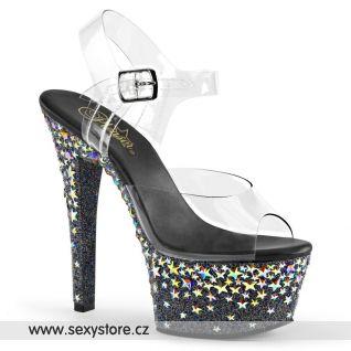 ASP608STPL/C/B Luxusní sexy boty na podpatku