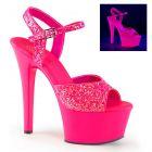 ASPIRE-609G/NHPNK/M růžové svítící boty