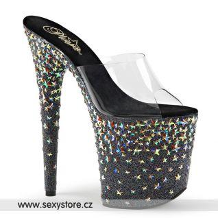 Luxusní pantofle na extra vysokém podpatku STPLASH801/C/B