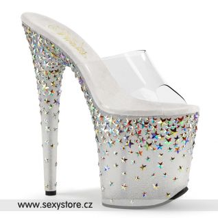 Luxus pantofle na extra vysokém podpatku STPLASH801/C/FT