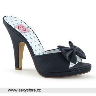 Černé pantofle SIREN-03 SIR03/BPU
