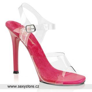 Růžové bikini fitness boty GALA08/C-RA/RA