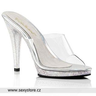 Pantofle na vysokém podpatku FLAIR-401MG FLA401MG/C/M