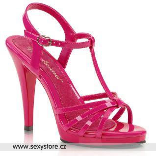 Růžové páskové sandály FLAIR-420 FLA420/HP/M