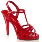 Sandály a páskové boty Červené páskové sandály FLAIR-420 FLA420/R/M