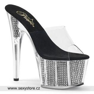 Luxusní sexy pantofle ADO701SRS/C/B