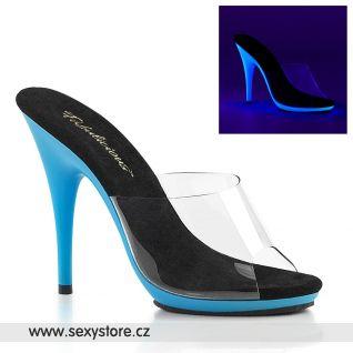 Modré pantofle POISE501UV/C/NBL