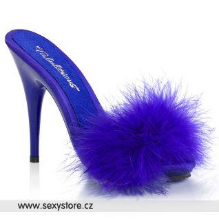 Tmavě modré pantofle POISE501F/BLUSA/M