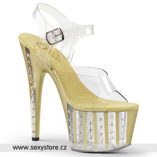 Zlaté sexy boty ADORE-708VLRS/C/G