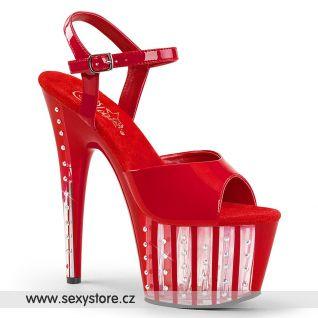 Červené sexy boty ADORE-709VLRS ADO709VLRS/R/M