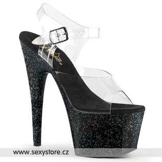 Svůdné sexy boty na vysokém podpatku a platformě ADO708MG/C/B