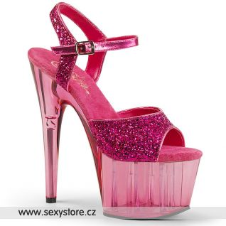 Růžové sandály na vysokém podpatku ADORE-710GT/HPG/BP