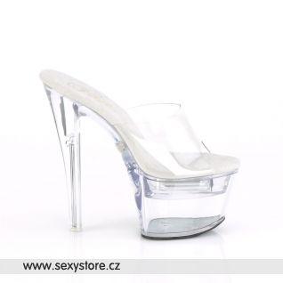 FLASHDANCE-701 FDANCE701/C/M Svítící sexy boty na vysokém podpatku
