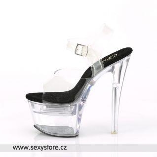 FLASHDANCE-708 FDANCE708/C-B/C Svítící sexy sandály