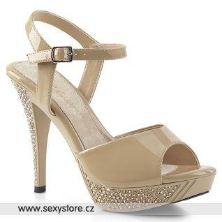 Tělové společenské boty ELEG409/CR/M