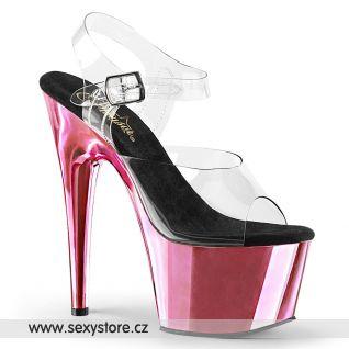 ADO708/C/BPCH růžové taneční sexy boty