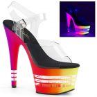 Svítící sexy boty na vysokém podpatku ADORE-708UVLN ADO708UVLN/C/NMC