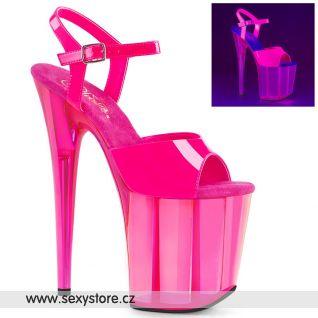 Růžové sexy boty FLAMINGO-809UVT FLAM809UVT/NHP/M